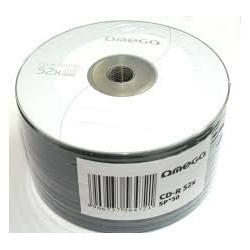 Omega CD-R 700MB / 52X, Pack 50uni