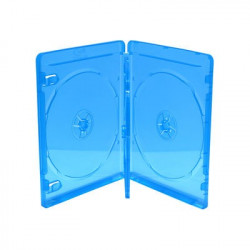 BluRay Box for 4 Discos 14mm Azul MediaRange