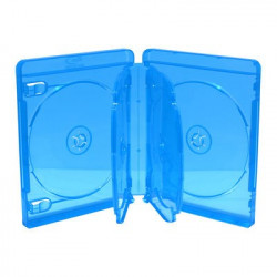BluRay Box for 6 Discos 22mm Azul MediaRange