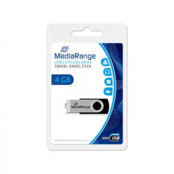MediaRange USB Flash Drive, 4GB
