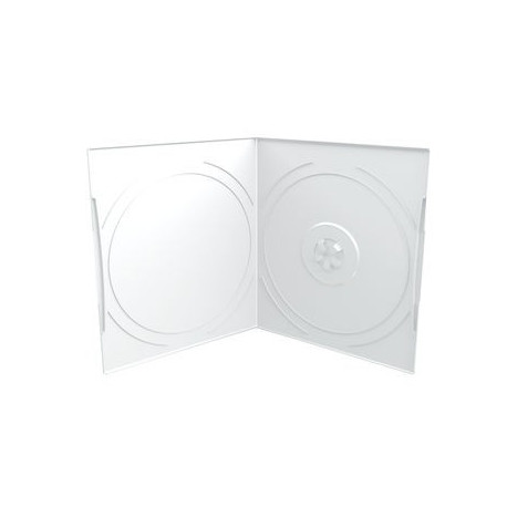 Capa CD/DVD 7mm, Pocket-Sized, 1 Disc, frosted / transparent