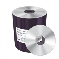 DVD-R 4.7GB|120min 16x speed, silver, unprinted/blank, Shrink 100