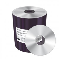 MediaRange DVD+R 4.7GB|120min 16x speed, silver, unprinted/blank, Shrink 100