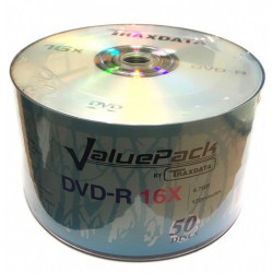 DVD-R Traxdata Value Pack 16x Branded F1 Dye - Bobina 50