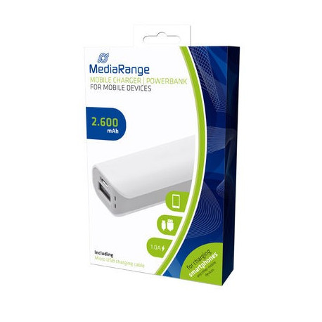 MediaRange Mobile Charger | Powerbank 2.600 mAh