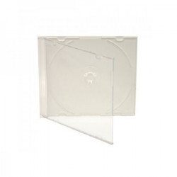 Pack 100- CD Slimcase 5,2mm para 1 CD/DVD Branca