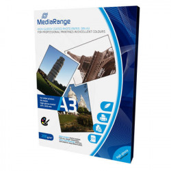 MediaRange A3 Photo Papel for inkjet printers, high-glossy coated, 200g, 50 sheets