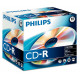 Philips CD-R 80Min 700MB 52x Jewel Case (10 unidades)