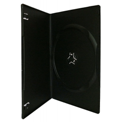 9mm DVD box for 1 Disco Black