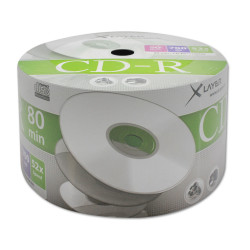 CD-R Xlayer 52x 700MB, Shrink pack 50