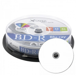 BD-R Xlayer 25GB Printable 4x Pack 10