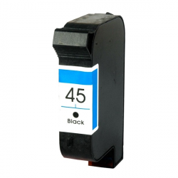 HP 45 Cartucho Negro Compatible - 51645AE