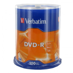 Verbatim DVD-R AZO 4.7GB 16X MATT SILVER SURFACE Cake 50