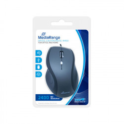 MediaRange Rato Optical 5-button mouse, com fio, Preto/Cinza