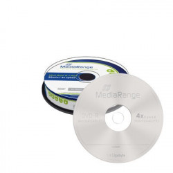 Mini DVD-R 1.4GB|30min Mediarange 4x speed, Cake 10