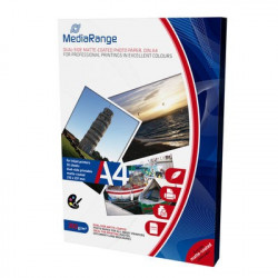 MediaRange DIN A4 Photo Paper for inkjet printers, dual-side matte-coated, 200g, 50 sheets