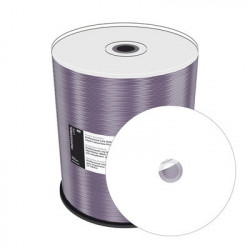 Prof. Line DVD-R 4.7GB 120min 16x, Thermo retransfer FF printable, Prosel. white, wide sputtered, Cake 100